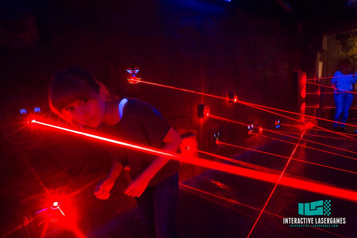 Interaktive Laserspiele und mehr