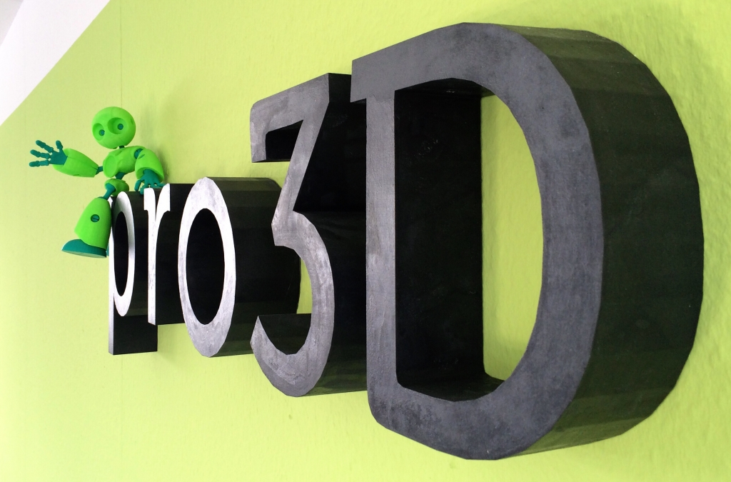 Pro3D – Manufaktur in 3D